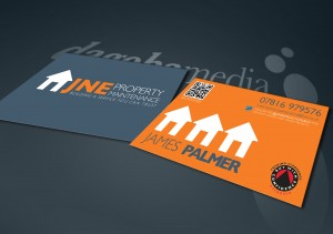 JNE Property Management Business cards